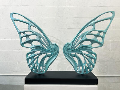 Rubem Robierb, 'Dream Machine  Metallic Turquoise', 2021