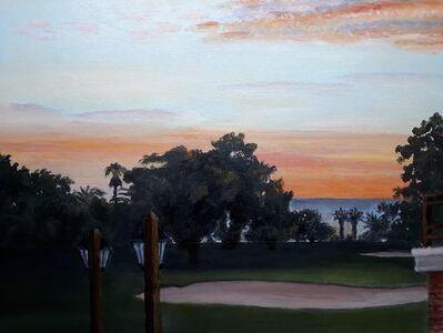 Juan J. Franchi, 'Atardecer en el Club de Golf del Uruguay', 2020