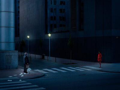 Geert De Taeye, 'Night Hawks', 2012