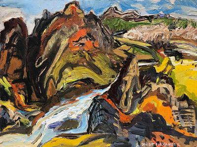 David Alexander, 'Cutting Around the Rock', 2019