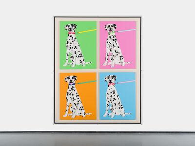 Michael Shultis, '4 Purebred Dalmatians', 2019