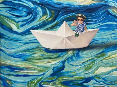 Carlos Oviedo, 'Toothpaste Sailor', 2020
