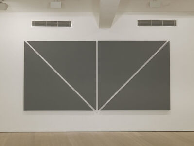 Alan Charlton, 'Two Diagonals', 2012