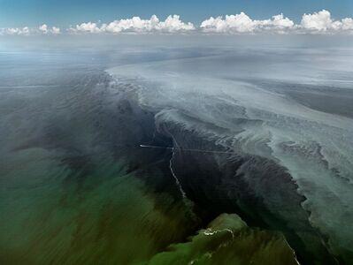 Edward Burtynsky, 'Oil Spill #13, Mississippi Delta, Gulf of Mexico, June 24, 2010', 2010