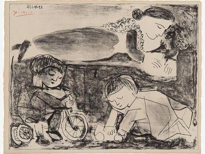 Pablo Picasso, 'Les jeux et la lecture (games and reading) 1953', 1953