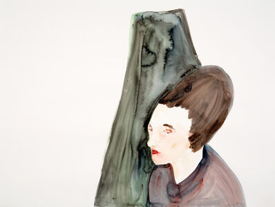 Paloma Varga Weisz, 'Figure Black Hat', 2006