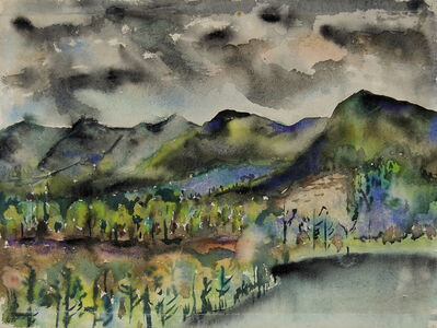 Joseph Fiore, 'Black Mountain, Lake Eden', 1954