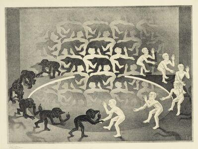 Maurits Cornelis Escher, 'Encounter', 1944