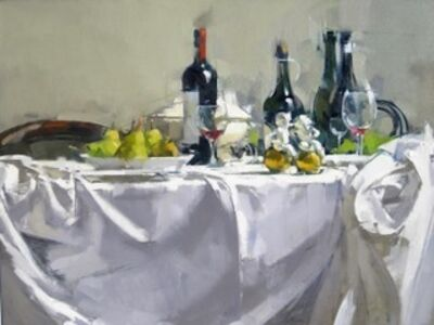 Maggie Siner, 'Four Bottles', 2017