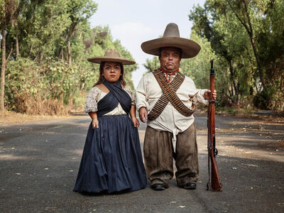 Pieter Hugo, 'Zapata and Adelita, Mexico City', 2019