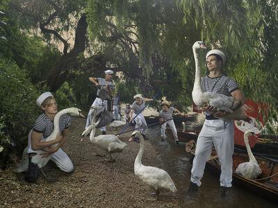 Julia Fullerton-Batten, 'Swan Upping', 2018