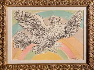 Pablo Picasso, 'Colombe Volant (a l'Arc-en-ciel)', 1952