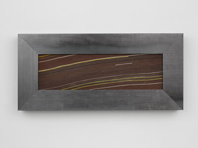 Theaster Gates, 'Strata Poem in Red', 2018