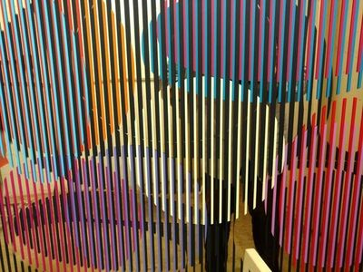 "Yaacov Agam, 'Rare Agam ""Mirror"" Silkscreen 1979 signed and numbered', 1970-1979"