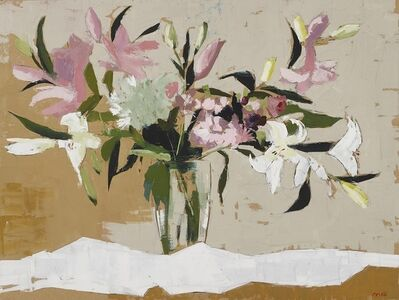 Martin Mooney, 'Pink and White Lillies', 2019