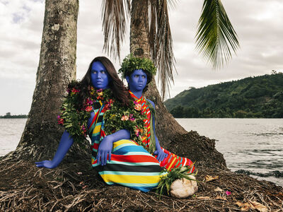 Namsa Leuba, 'Sous les palmiers I ', 2019