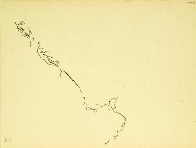 "Vasco Bendini, 'Design, series ""secrets Drawings"" ', 1952"