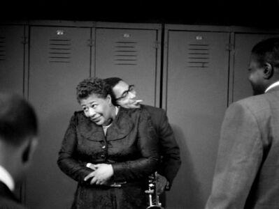 Herman Leonard, 'Ella Fitzgerald & Dizzy Gillespie, NYC', 1950