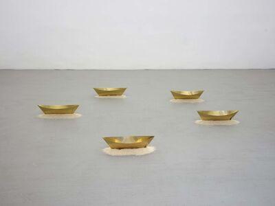 Wolfgang Laib, 'Ships', 2014