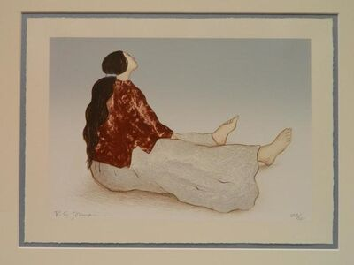 R.C. Gorman, 'Woman From Taos', 1983