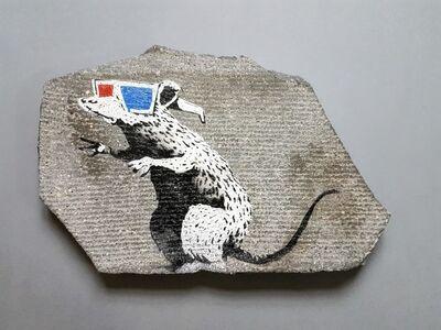 Banksy, '3D RAT ', 2010