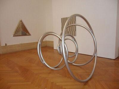 Getulio Alviani, 'Cerchi progressivi', 1967