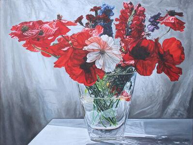 robert lemay, 'Garden Flowers'
