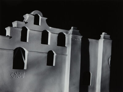 James Casebere, 'Mission Façade', 1988