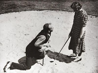 Norman Parkinson, 'Henry Cotton Golf Instruction, 1950s'