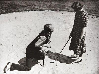 Norman Parkinson, 'Henry Cotton Golf Instruction, 1950s'