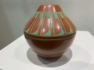 object artist, ' Native American pottery, San Ildefonso Pueblo', 2019