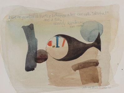Julius Bissier, 'Untitled', 1977