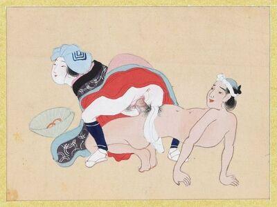 Unknown, 'Erotic Scene', second half of XIX century