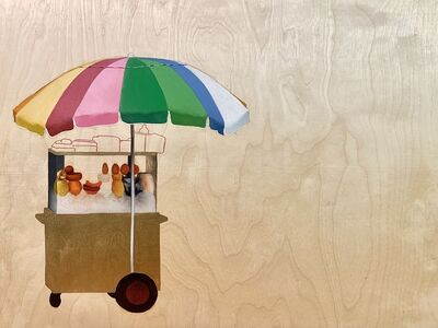 Isaac Pelayo, 'Paraguas', 2020