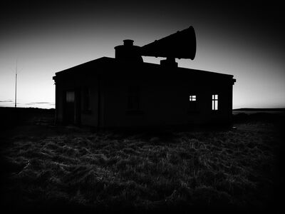 Jon Wyatt, 'Horn for fog signal, Nash Point Lighthouse, South Wales', 2011