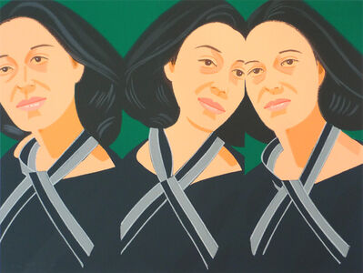 Alex Katz, 'Grey Ribbon (from Alex & Ada portfolio) ', 1990