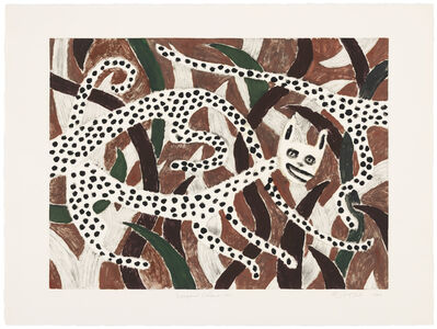 Judy Kensley McKie, 'Leopard Chase III', 1990