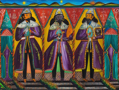André Pierre, 'Three Kings, 1960'