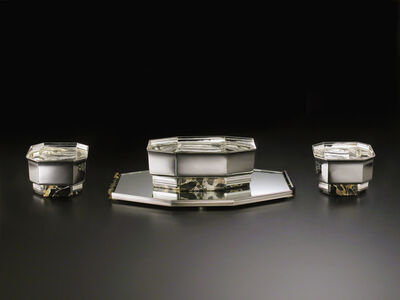 Cardeilhac, 'Art Deco set of four centerpieces', ca. 1930