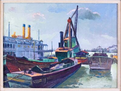 Frederick Buchholz, 'Riverboats', ca. 1935