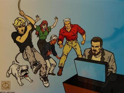 Hanna-Barbera Studios, 'Johnny Quest', 1996