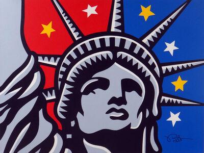 Burton Morris, 'Liberty Face', 2013