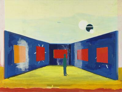 René Daniëls, 'Zachte strepen (Soft stripes)', 1986