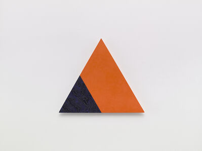 Dove Bradshaw, 'Angles (Orange and Blue)', 2001