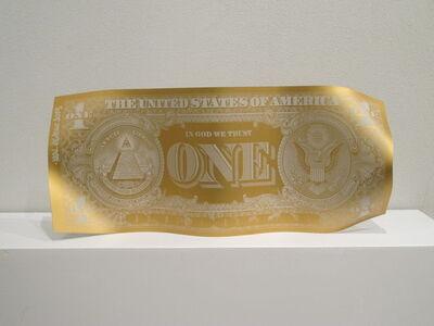 Karl Lagasse, 'One dollar mat Gold'