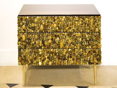 KAM TIN, 'Amber cabochons chest', 2017