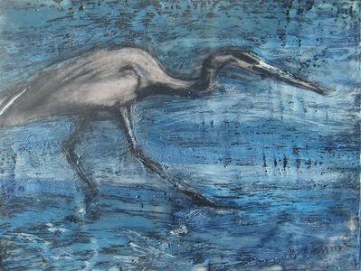 Marcie Wolf-Hubbard, 'Blue Wader'