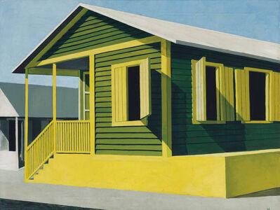 Emilio Sanchez, 'Casita verde y amarilla'
