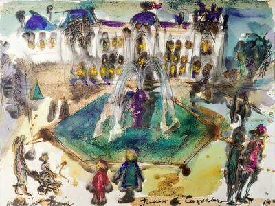 Norma de Saint Picman, 'Souvenirs de Paris - L'Enfance, Jardin de Luxembourg, Adrian Samuel, Marguerite Voulissa ', 2003