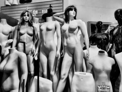 Laura Storck, 'NYC Mannequins Get Naked', 2015